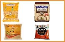 Pulses, Rice, Atta, Salt & Sugar