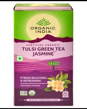 ORGANIC TULSI GREEN TEA JASMINE 25 N