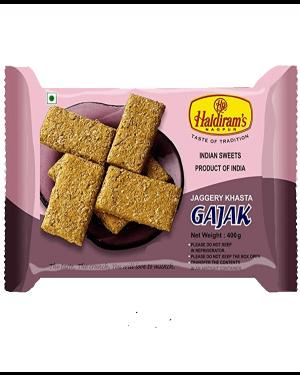 HALDIRAM GAJJAK DRY FRUIT ROLL 400GM