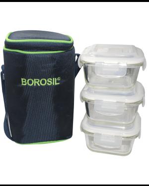 BOROSIL MICROWAVE LUNCH BOX