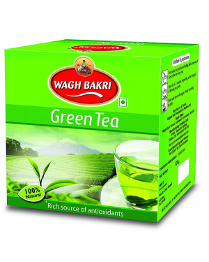 WAGH BAKRI GREEN TEA 100GM