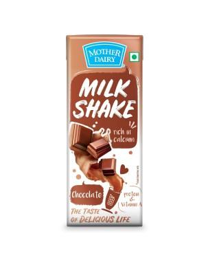 MOTHER DAIRY MILK SHAKE CHOCOLATE 200ML
