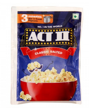 ACT-II CLASSIC SATED PACKS FREE CONTAINER 60 gm