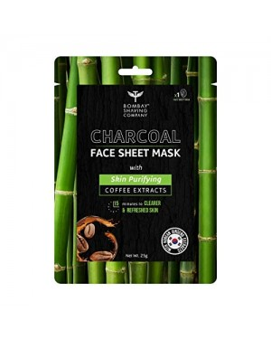 BOMBAY CHARCOAL FACE SHEET MASK