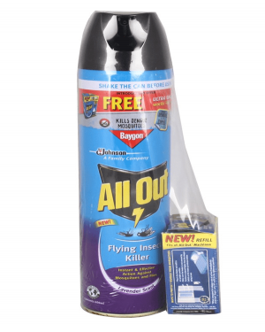 ALL OUT FLYING INSECT KILLER (LEVENDER)