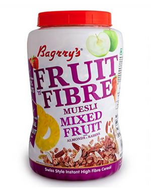 BAGRRY'S FRUIT N FIBRE MUESLI MIX FRUIT 5