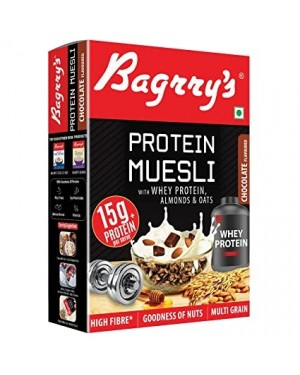 BAGRRY'S PROTIEN MUESLI WITH WHEY 500GM