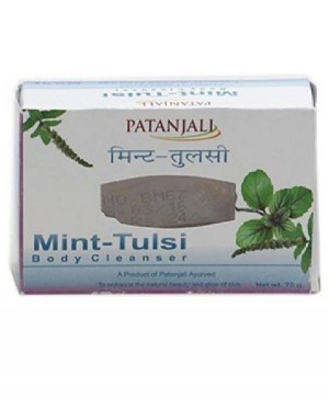 PATANJALI MINT TULSI BODY CLEANSER 75 G