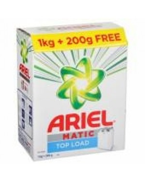 ARIEL MATIC FRONT LOAD 1KG+200G FREE