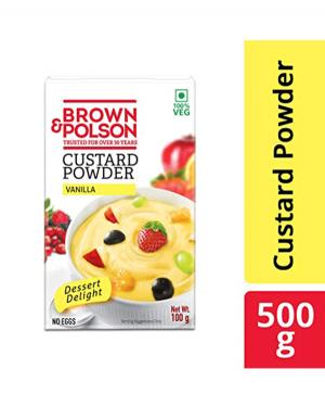 BROWN POLSON CUSTARD POWER 100G