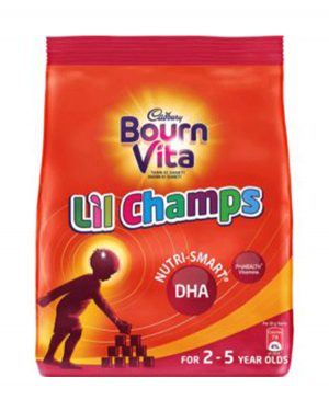 CADBURRY BOURN VITA LIL CHAMPS 2-5 YEAR