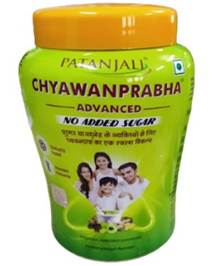 H : CHYAWANRRABHA ADVANCE NO ADDED SUGAR