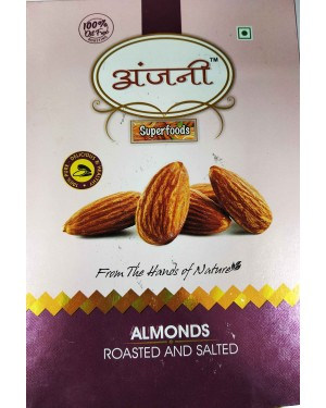 ANJANI ALMONDS ROASTED AND SALTED 200GM
