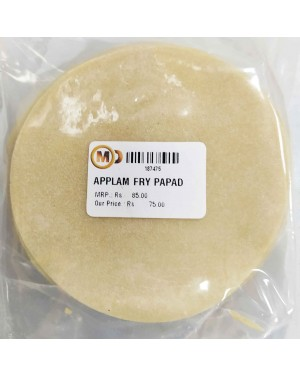 a : APPLAM FRY PAPAD