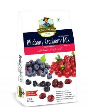 jewel farmer blueberry cranberry mix 200gm