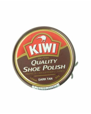 KIWI SHOE POLISH DARK TAN 40GM