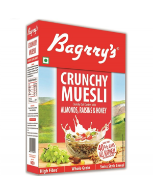 BAGRRY'S CRUNCHY MUESLI 500GM