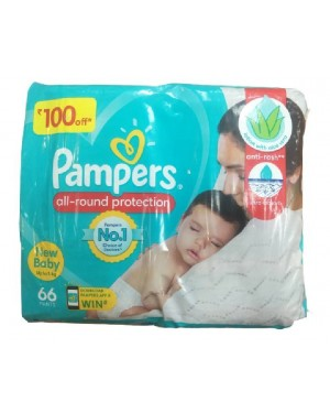 PAMPERS ALL ROUND PROTECTION NEW BABY 66N