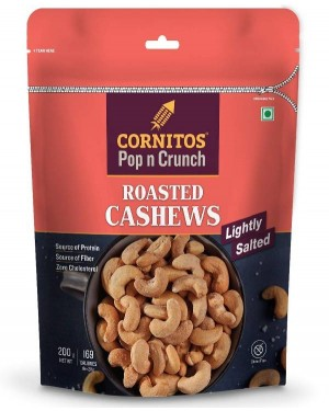 CORNITOS ROASTED CASHEW LIGHTLY SALTED 200 G