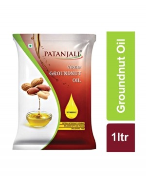 Patanjali ground nut oil 1ltr. (P)