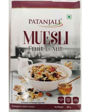 b : MUESLI FRUIT AND NUTS