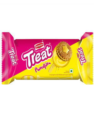 BRITANNIA TREAT PINEAPPLE
