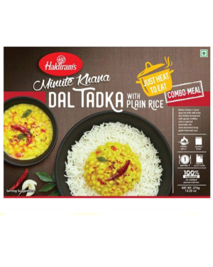 HALDIRAM DAL TADKA WITH RICE