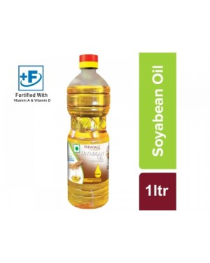 OIL : SOYABEAN OIL(POUCH) 1 LTR