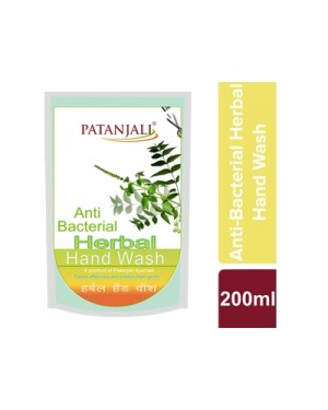 PATANJALI ANTI BACTRIAL HAND WASH PAUCH 2