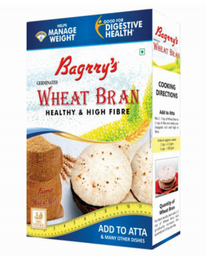 BAGRRY'S WHEAT BRAN 500GM