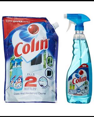 COLIN 1 LITRE POUCH 500ML COLIN FREE