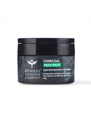 BOMBAY CHARCOAL FACE PACK 50G