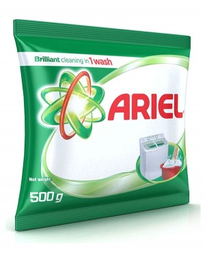 ARIEL 500GMS DETTENGENT POWDER