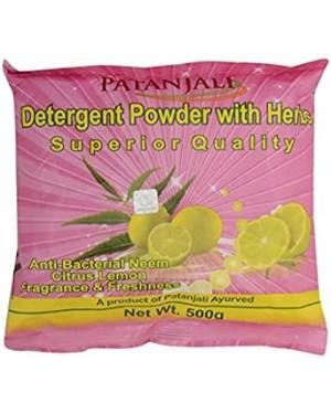 PATANJALI SUPERIOR DETERGENT POWDER 500 G