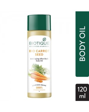 BIOTIQUE CARROT SEED BODY OIL