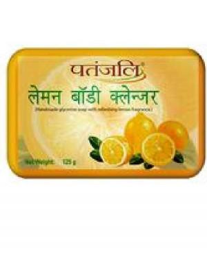 SOAP :  PATANJALI LEMON CLEANSER (125G*3)