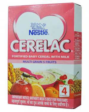 CERELAC MULTI CEREAL WITH MILK FRUIT