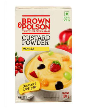 BROWN & POLSON VANILLA 100GM