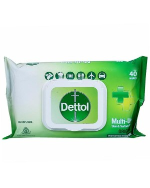 DETTOL MULTI USE SKIN WIPES