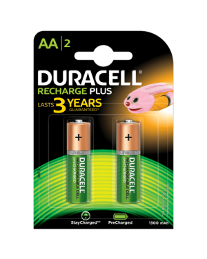 DURACELL AA2 RECHARGE PLUS