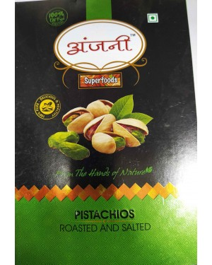 ANJANI PISTACHIOS ROASTED AND SALTED 200GM
