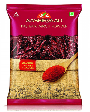 AASIRVAAD KHASHMIRI MIRCH 100GM