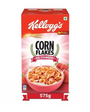 Kellogg's corn real strawberry 575gm