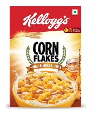 Kellogg's real almond honey