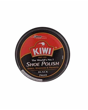 KIWI SHOE POLISH BLACK 40GM