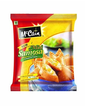 MCCAIN CHEESE CORN SAMOSA CHEESE 240G