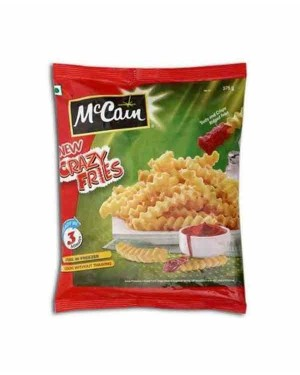 MCCAIN CRAZY FRIES 375G