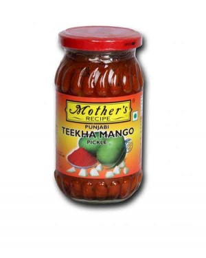 MOTHER'S TIKKHA MANGO PICKLE 400GM
