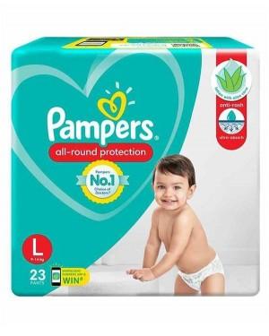 PAMPERS HAPPY SKIN PANTS L   22N
