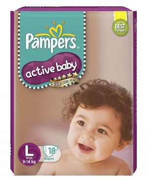 PAMPERS ACTIVE BABY L